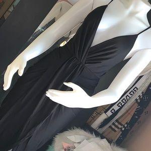 Miss avenue spaghetti strap cross back dress sz s